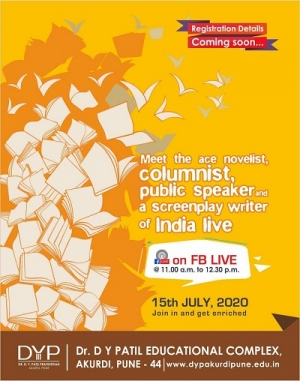 Facebook live Event on 15th July, 2020 from 11.00 AM to 12.30 PM